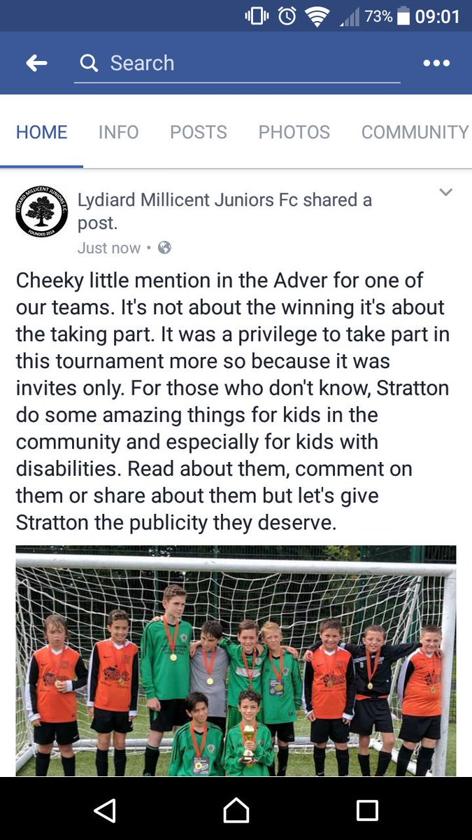 @StrattonJuniors Shared on our Facebook page