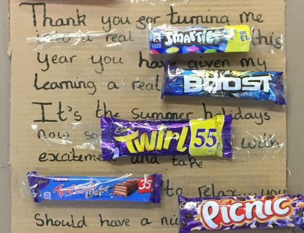 The sweetest teacher letter, EVER. https://t.co/lxH29pkTAi #Teacher #Teaching #School #ThankYou #Children https://t.co/0sIYvj6Qxq