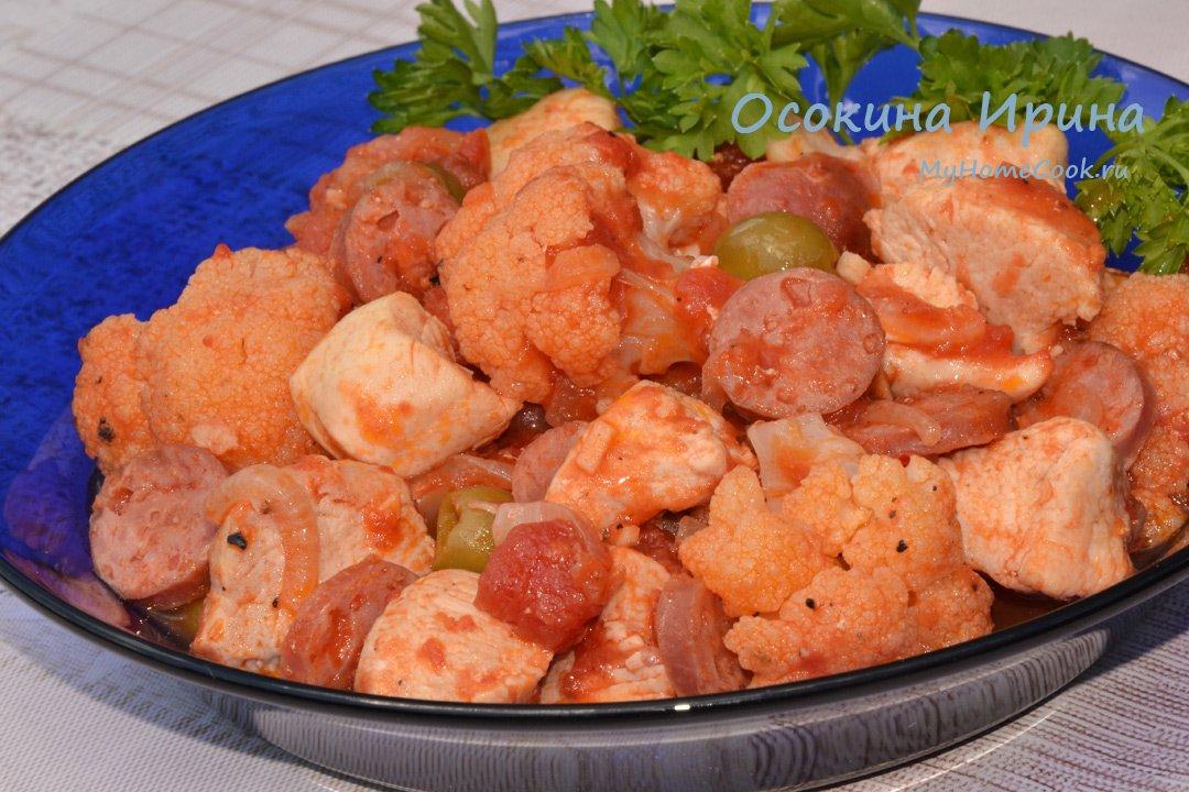 Куриные грудки в сливочном соусе рецепт