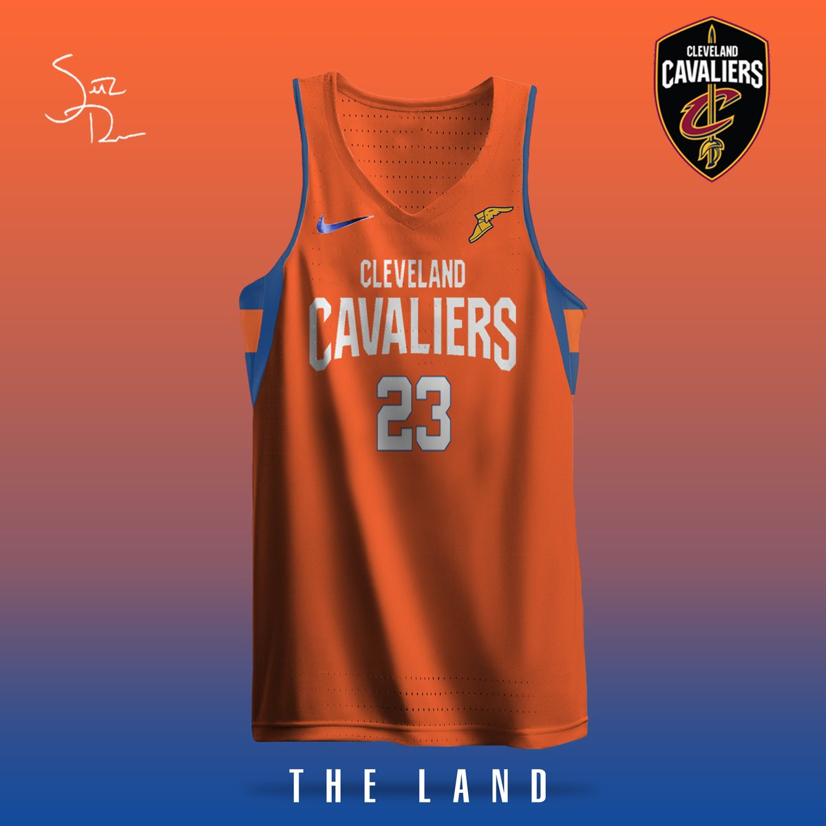 6f978d5d35e @Cavs 2017-18 jersey concepts.... Cavs fans, RT if you'd wear one!pic. twitter.com/BNJMQB4iaM