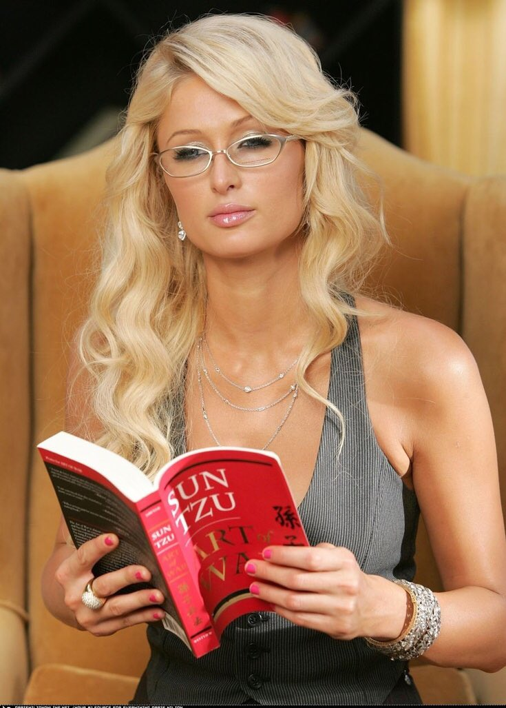 Image result for paris hilton reading