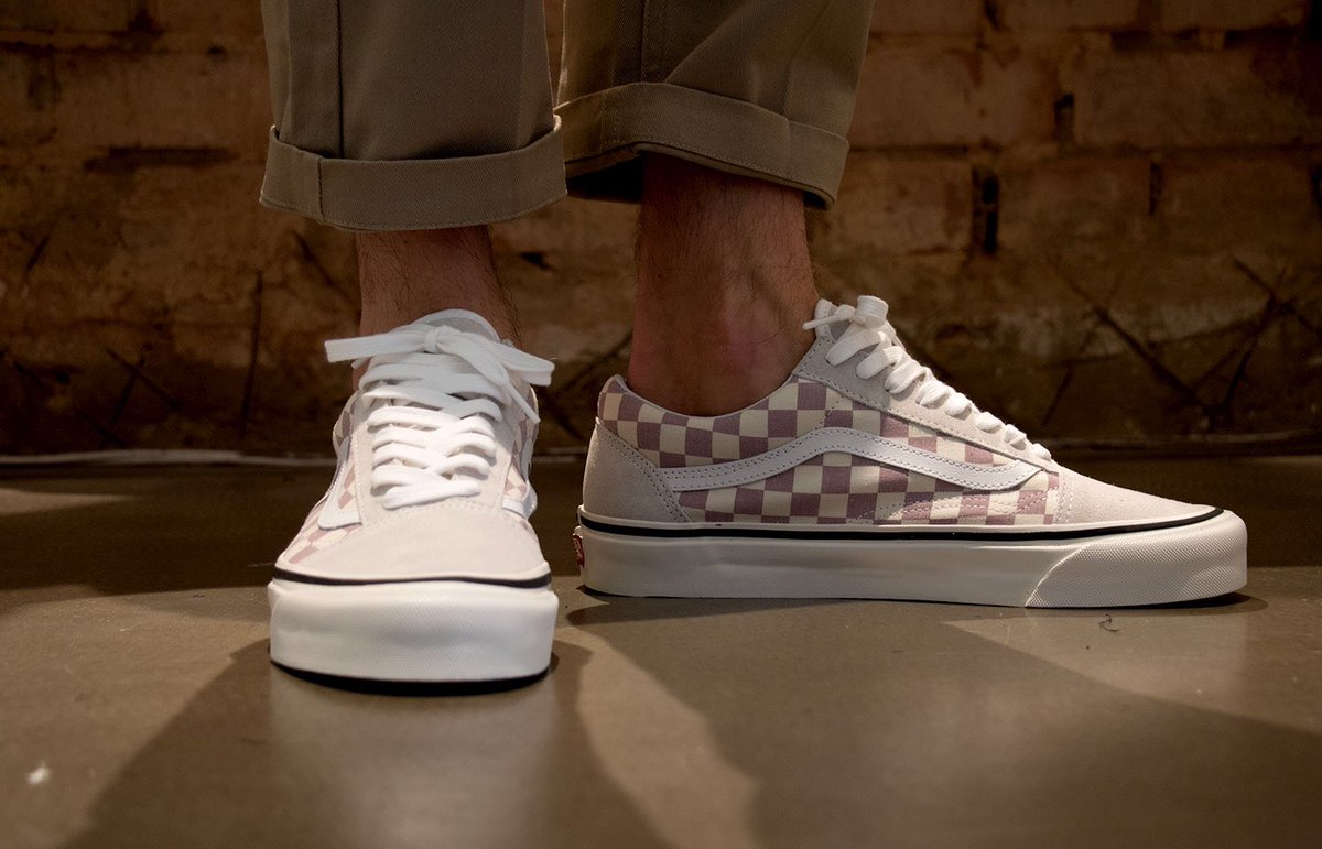 vans checkerboard Khaki