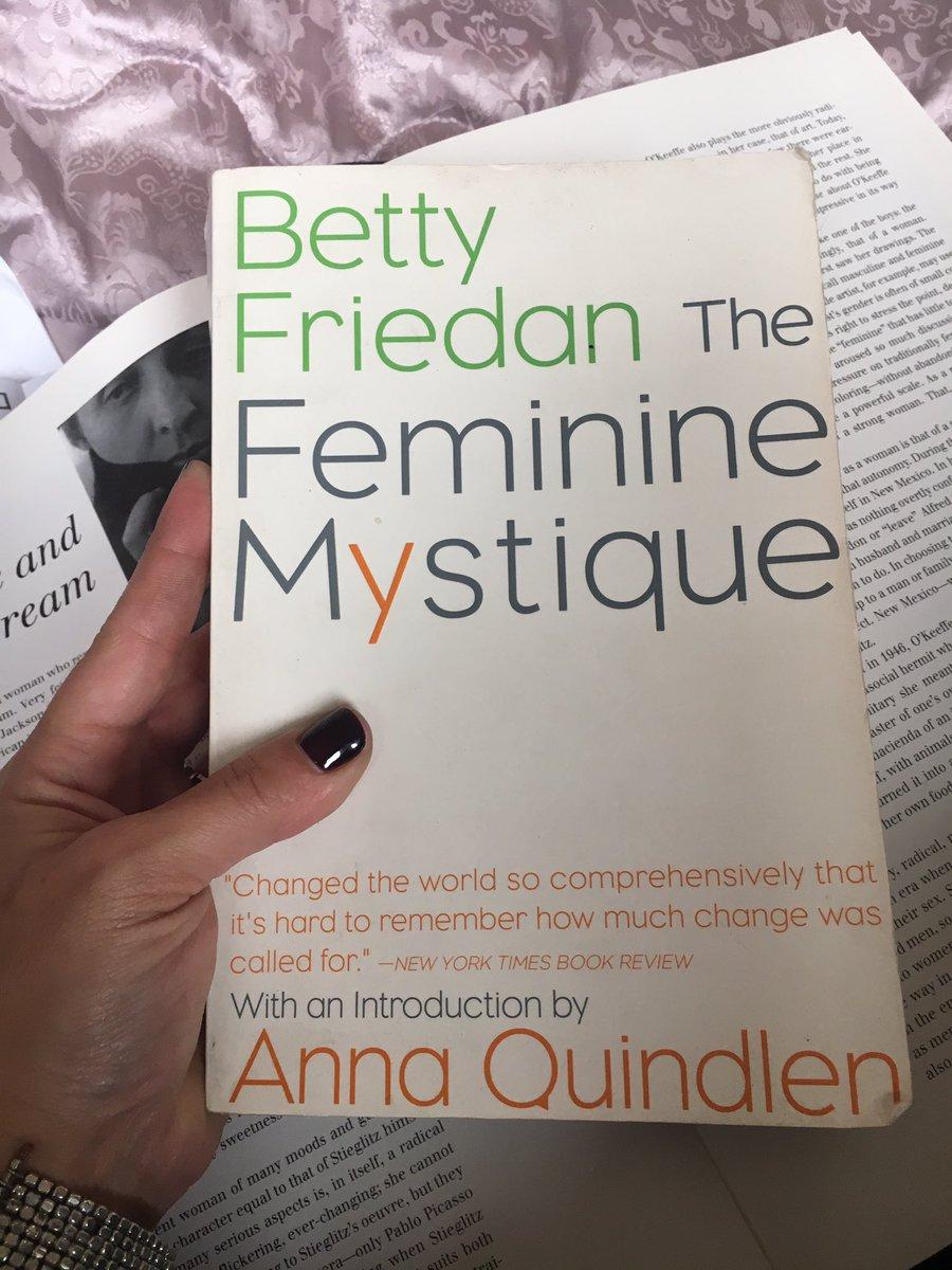 thefeminiemystique hashtag on Twitter