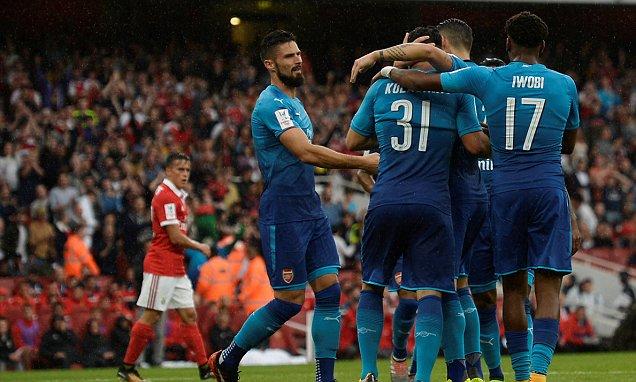 Video: Arsenal vs Benfica