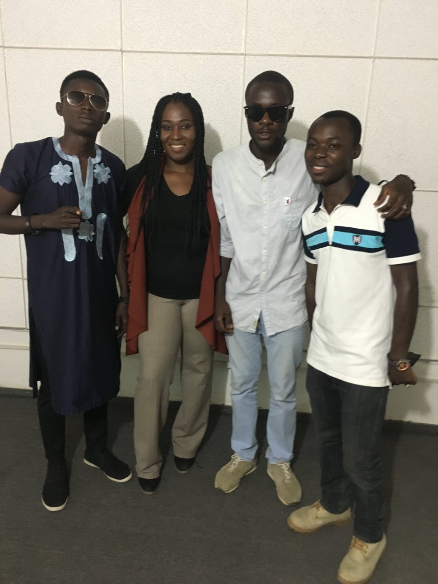 It was awesome and we killed it,from L-R @sulantoo , @RubyGyang,@Mcstain1, @geotyt #ABU1011 #dot_mag #may1st #RopulerzEnt #Chocolatecity<br>http://pic.twitter.com/AjE5Fo0wTq