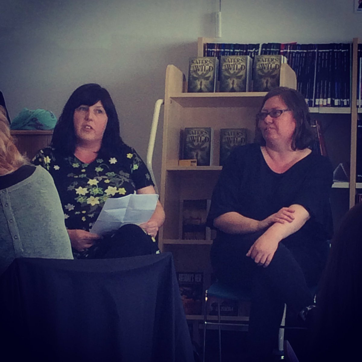 Book Launch for Waters and the Wild! ????#Bookstagram #WomenAloudNI https://t.co/28SqLSNqMn