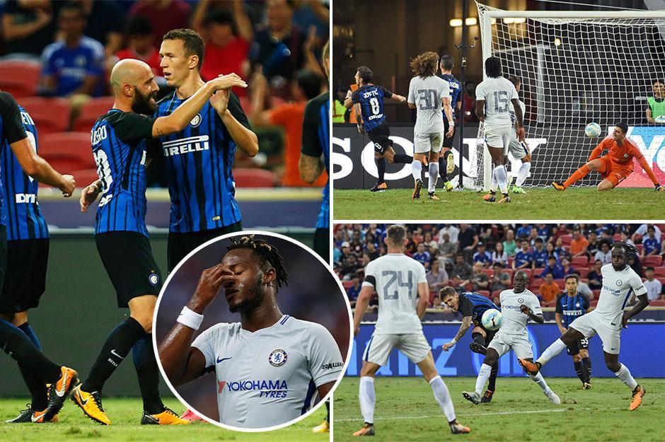 INTER-CHELSEA risultato finale 2-1: segnano Jovetic e Perisic | Amichevole ICC 2017