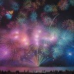 ファンタジックな世界観切り取ったような三重県の花火が美しい