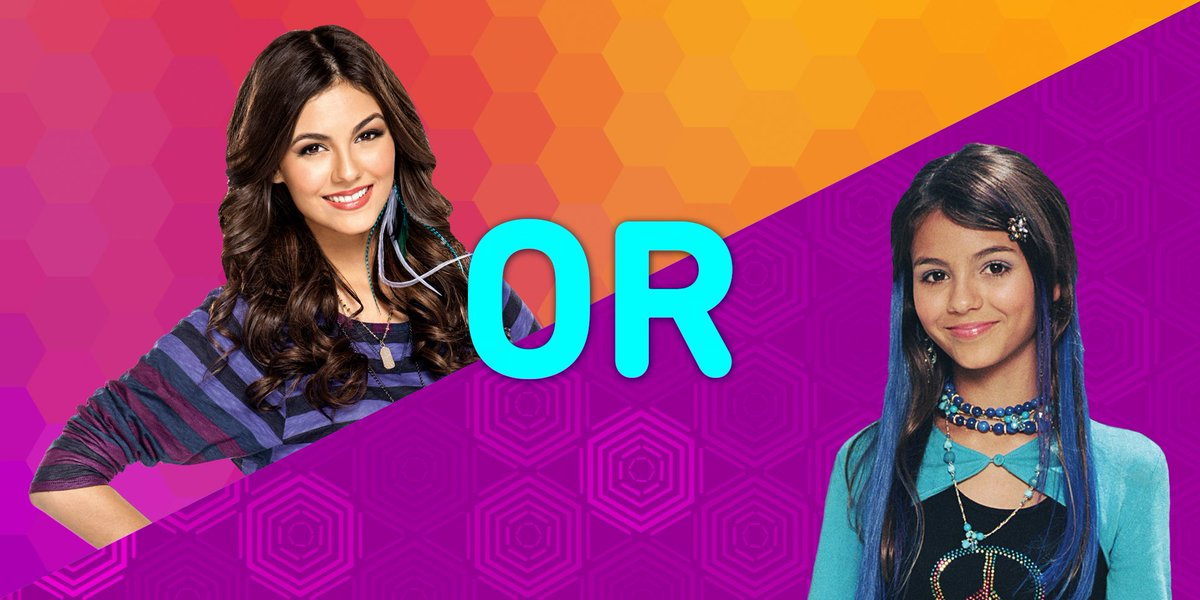 Teennick On Twitter Which Version Of Victoriajustice Did You Prefer Better Lola Or Tori Zoey101 Vs Victorious