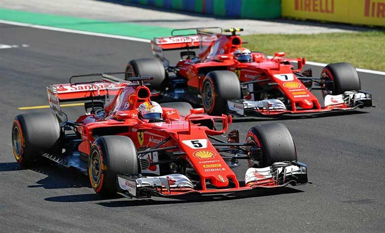 DIRETTA GP Ungheria Streaming F1: Oggi Partenza Gara Gratis su Sky. Ferrari in prima fila con Vettel e Raikkonen