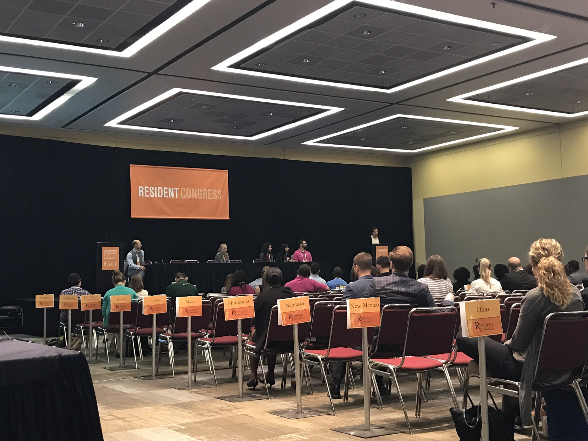 Tremendously touched by the thoughtful speeches of resident candidates #AAFPNC #socialjustice #humanrights #commitment & #FamilyMedicine https://t.co/KMrnfXfN6A
