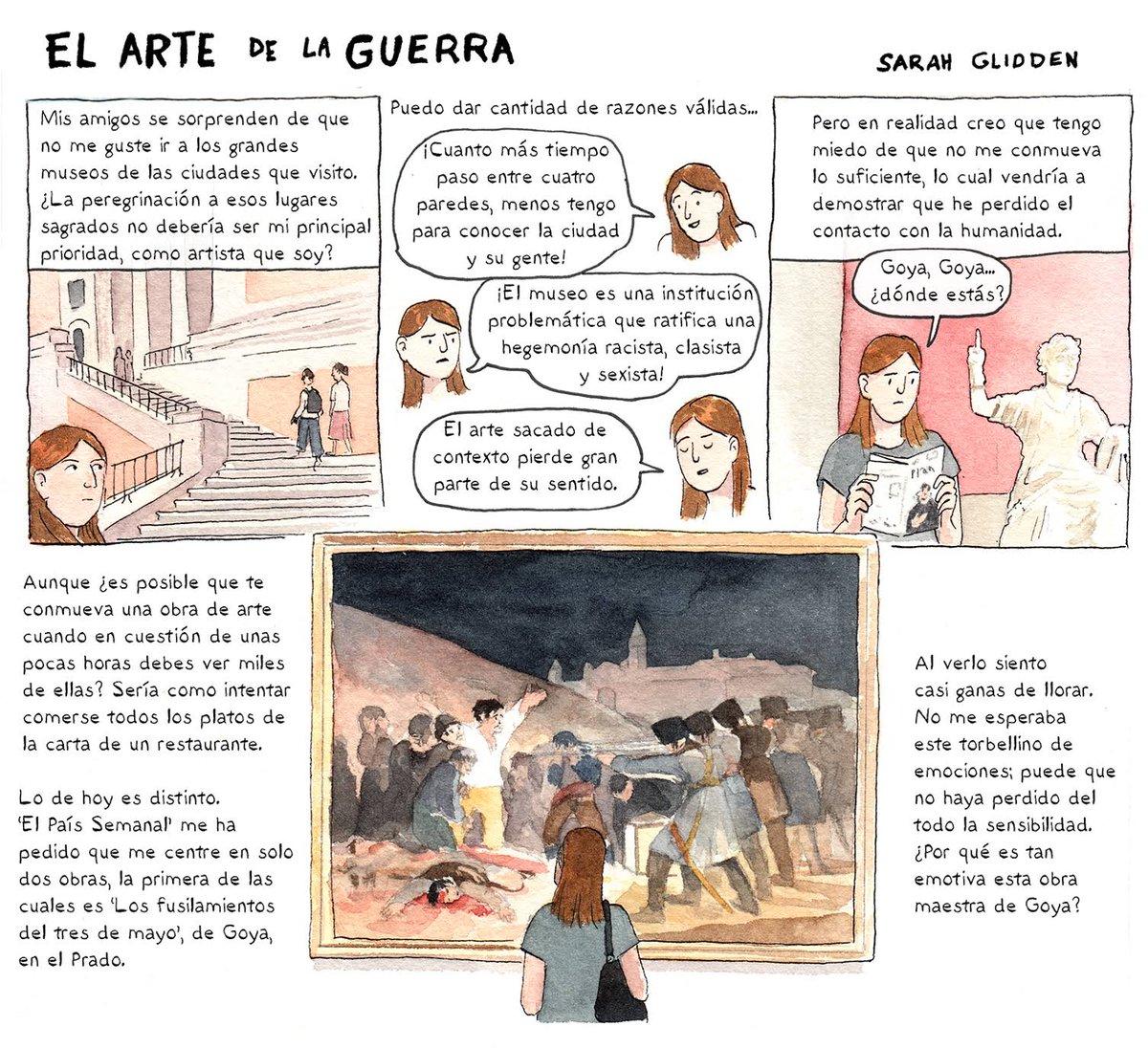 Sarah glidden on twitter si lees castellano tengo un nuevo comic este fin de semana en el pa s semanal sobre arte y violencia https t co uyzgt3wvg3