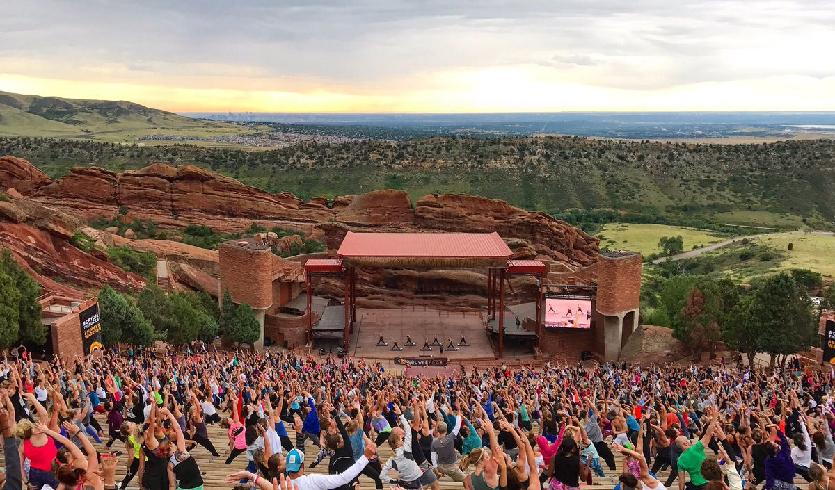 Red Rocks Park Amphitheatre On Twitter Yoga On The Rocks Is Back Thanks For Kicking Off Your Saturday Mornings With Us Redrocksco Yogis Yotr17