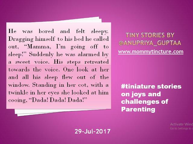 @gayatri_gadre @romspeaks @foodietweeter @Ishieta @sujitrukhsat @Mayuri6 @nehatambe @twinklingtina @NatsCosmicrain Inspired by all the #sibling love stories from yesterday #tiniature #TinyStory https://t.co/gGKQ4Gi2KK