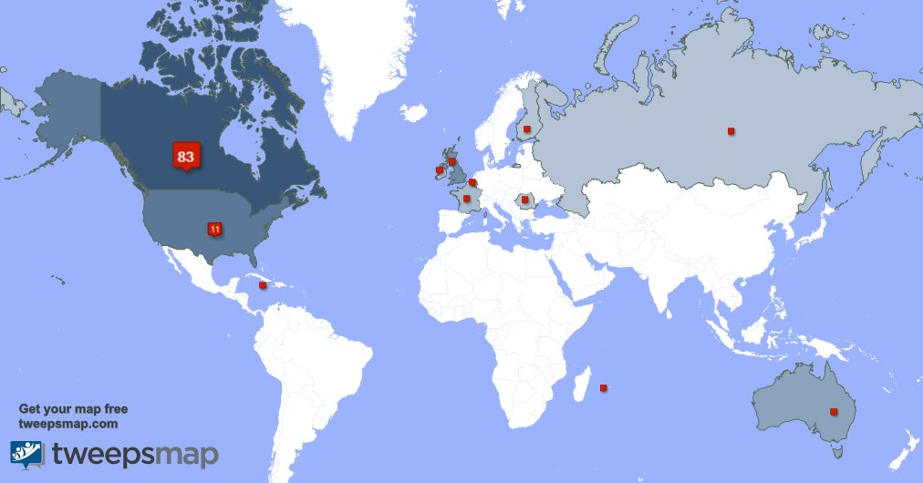 I have 2 new followers from UK., and more last week. See https://t.co/...