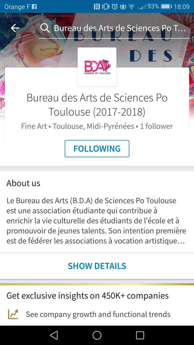 Sonia Chabane on Twitter HELLO La Page du Bureau des Arts de