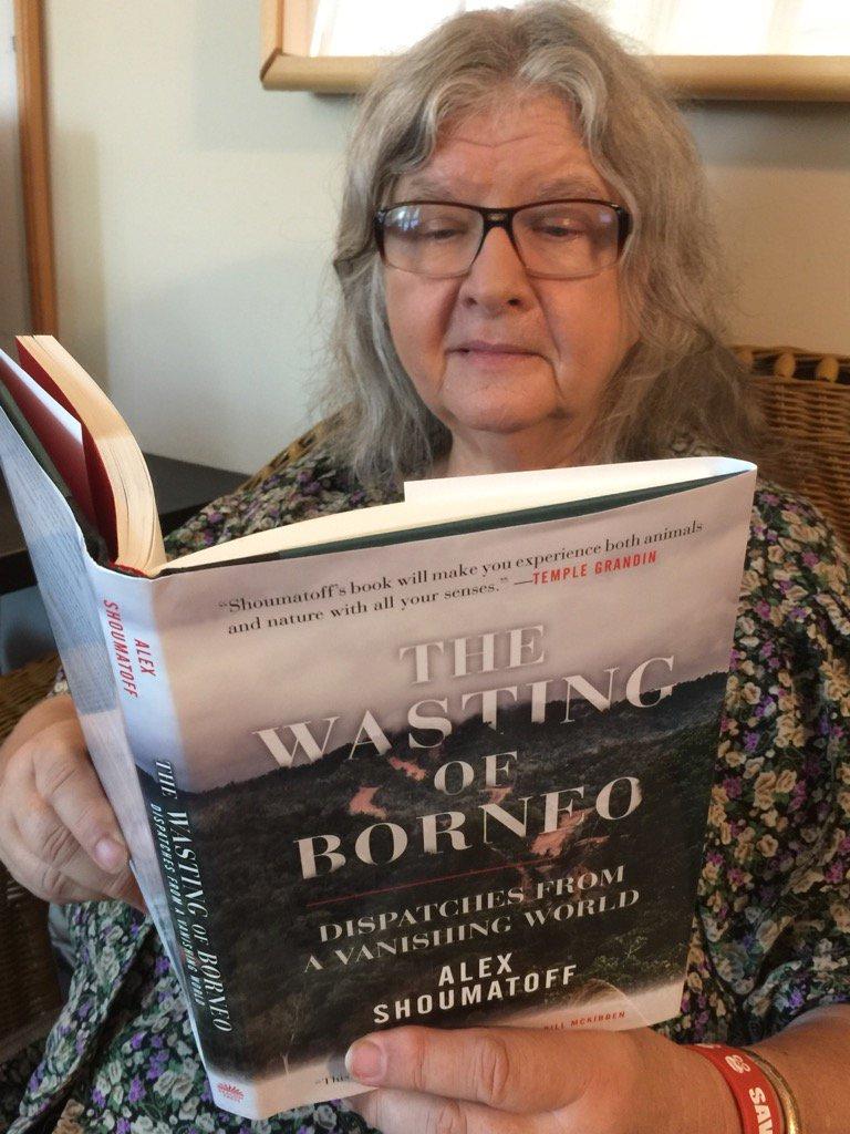 The Wasting of Borneo by Alex Shoumatoff Orangutan Foundation International Birute Mary Galdikas
