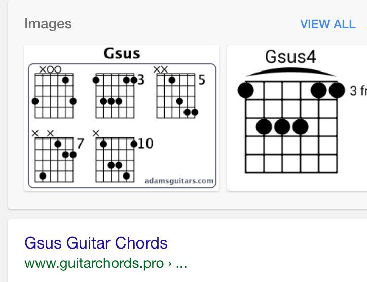 Awesome Gsus Chord Images - Guitar Ukulele Piano music Chords ...