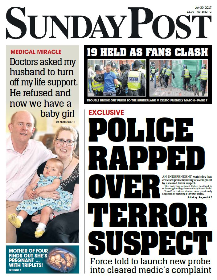The Sunday Post on Twitter: