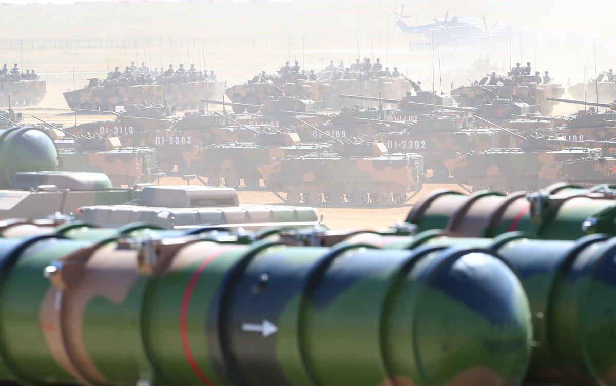 युद्धका लागि तयार रहन सैनिकहरुलाई चिनियाँ राष्ट्रपतिको निर्देशन, अत्याधुनिक मिसाइलसहित प्रदर्शन