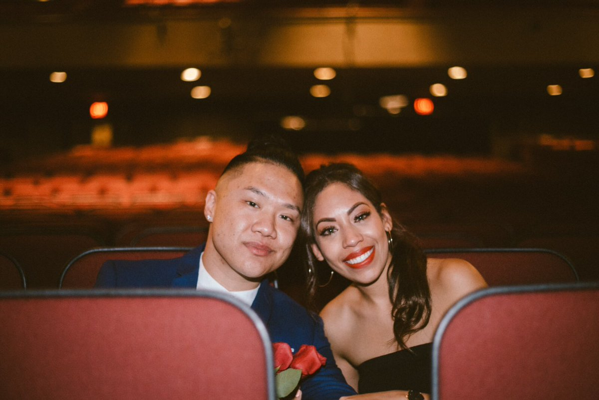 Timothy DeLaGhetto and fiance Chia Habte