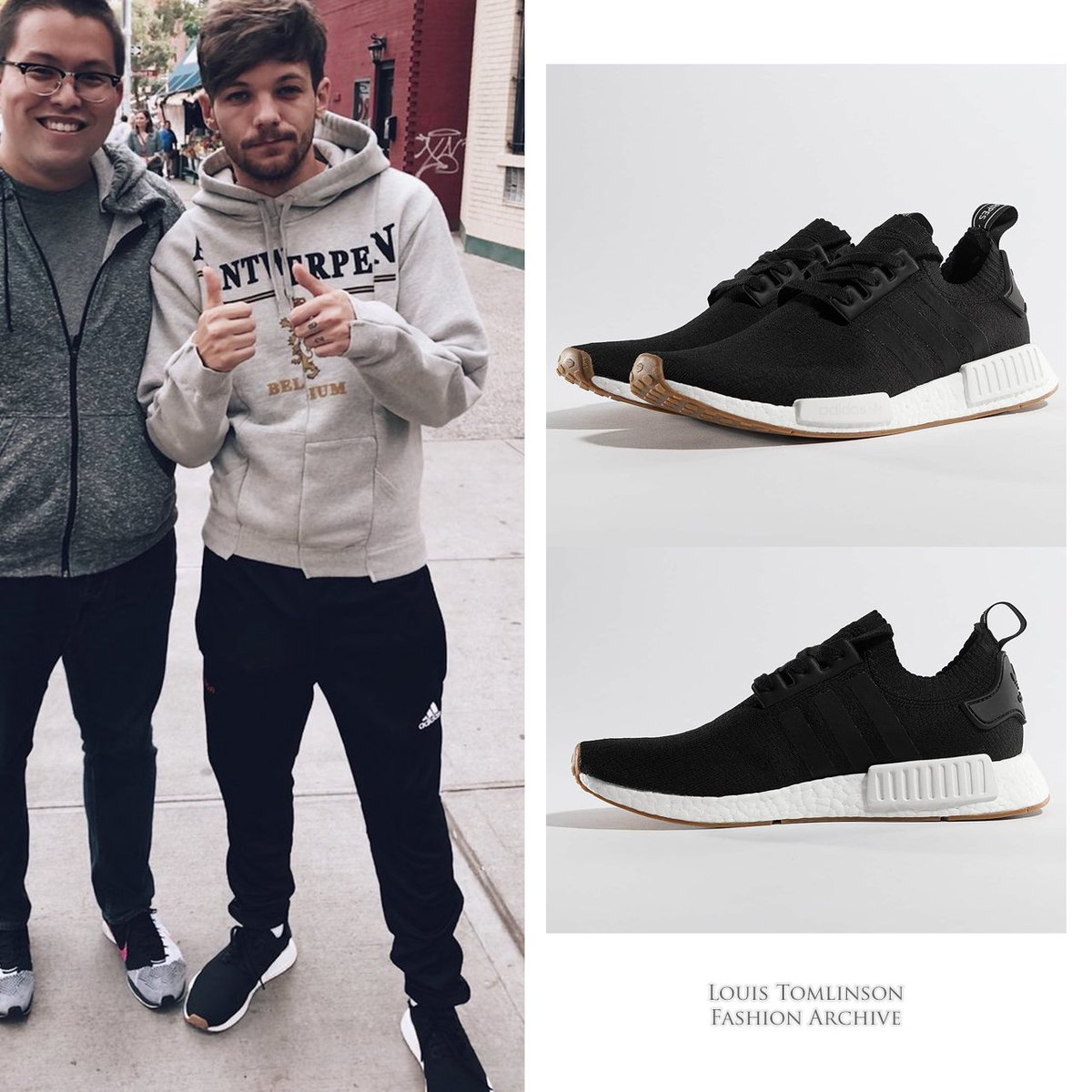 info for 42ade 5627d 07 29 17   Louis wore  adidas NMD R1 Primeknit sneakers ( 141) in New York  http   shopstyle.it l dD72 pic.twitter.com 2FLzvdxsy6