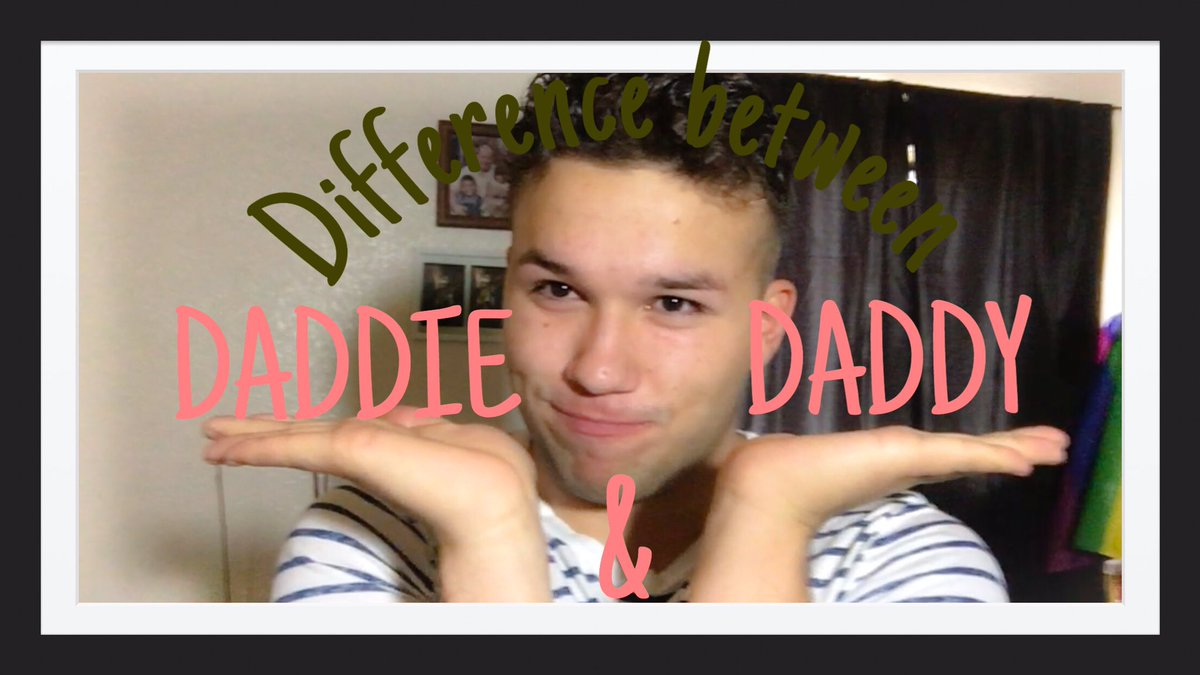 Come and see the difference between Daddie &amp; Daddy!!                         https:// youtu.be/lPcrI3kqKZ0  &nbsp;   #daddie #daddy<br>http://pic.twitter.com/1pXlXyG99g