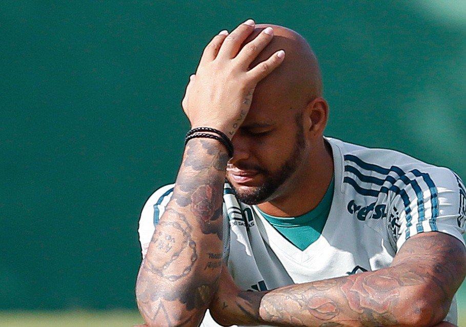 Fim da linha! Felipe Melo não joga mais pelo Palmeiras https://t.co/UyC1nkKySe