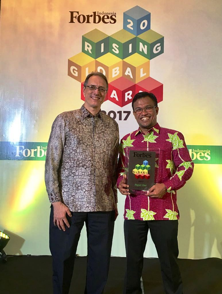 Shooting for the Stars: Sukanto Tanoto's APRIL Honoured by Forbes Indonesia.