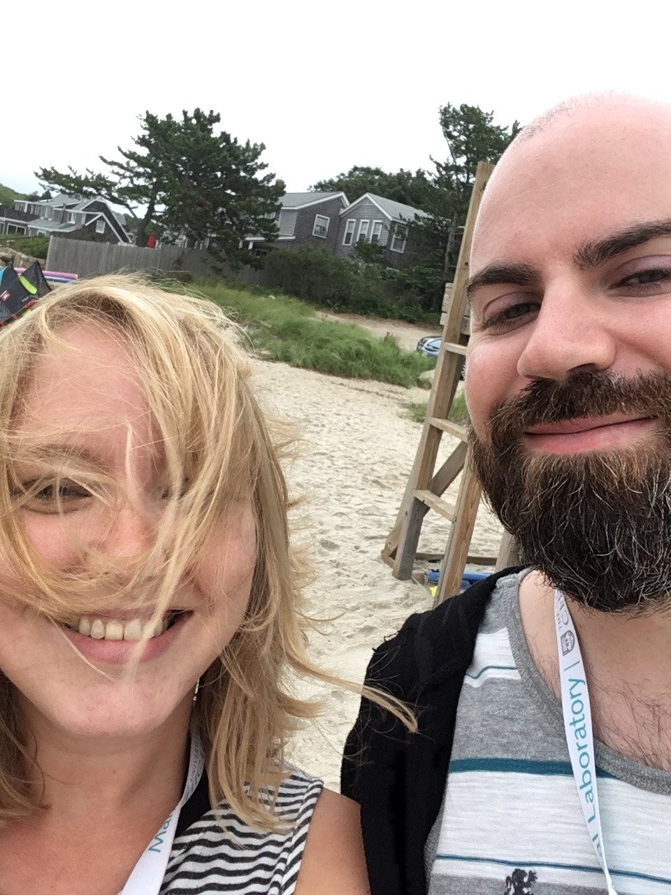 #MolEvol2017 TAs cannot be stopped from swimming, not even in the rain. #NerdBeachParty @con_meehan https://t.co/RrFi2AOsft