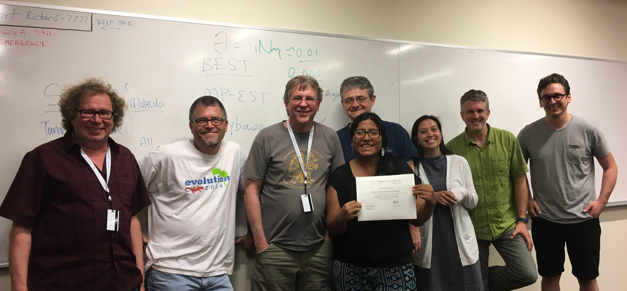 Wonderful 10 days at MBL! My whole diss is going to change, but in a better way thanks to instructors! #MolEvol2017 https://t.co/lqUiKASrQK