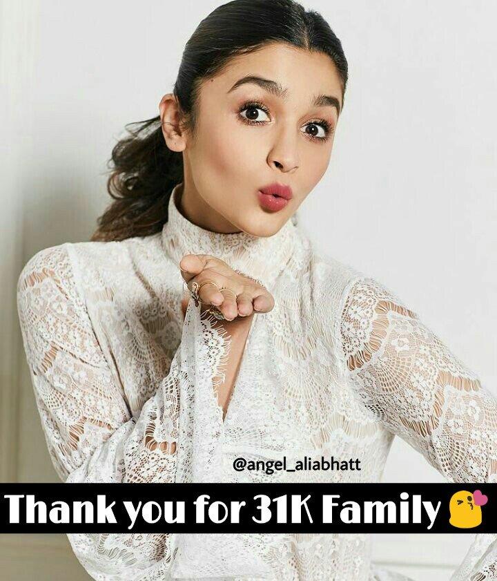 31K on Instagram  @aliaa08 @angel_aliabhatt  #AliaBhatt #angel_aliabhatt #Instagram #family #instagood #Bollywood #bollywoodactress #Follow<br>http://pic.twitter.com/k54n4UMpij