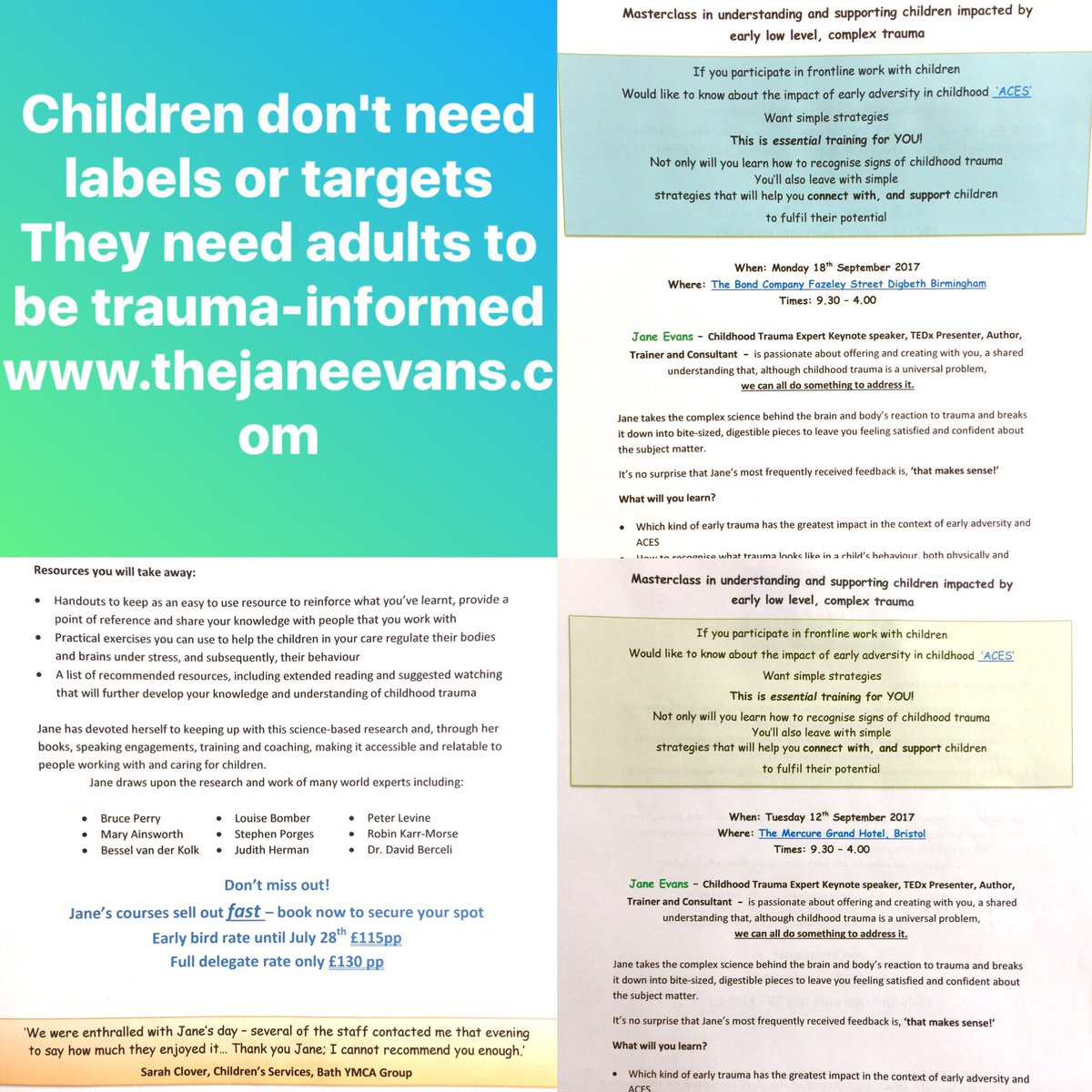 Childhood Trauma Leads To Lifelong >> Jane Evans On Twitter Even Low Level Childhood Trauma Leads To