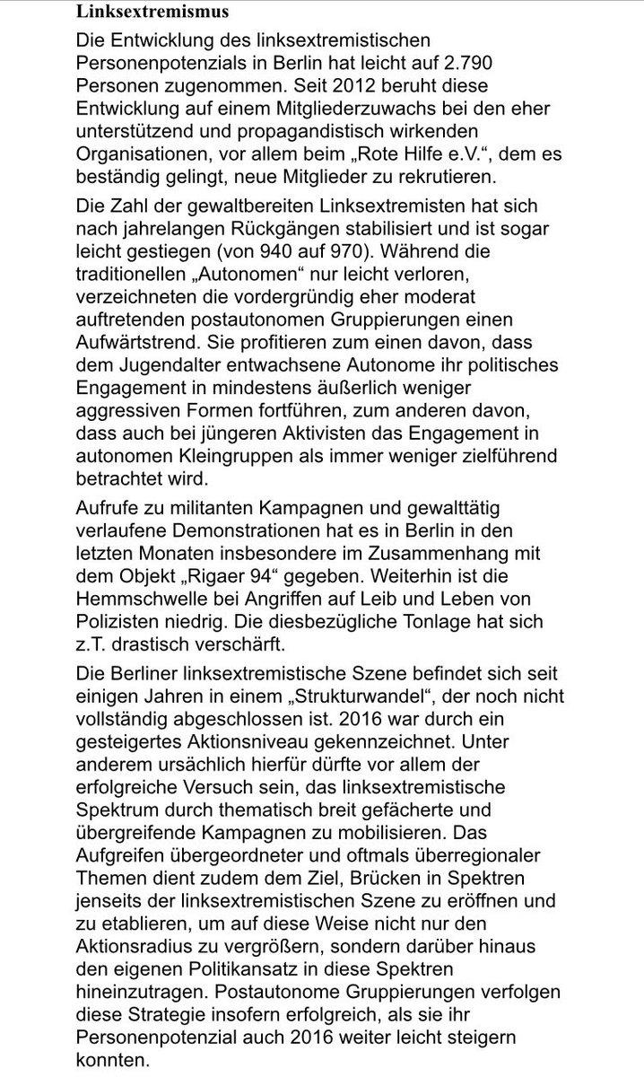 Axel Lier On Twitter Der Neue Verfassungsschutz Bericht Ist