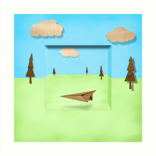 &quot;Paper Airplanes of Wood 11&quot; Art Prints by YoPedro | Redbubble  http:// goo.gl/ONnFok  &nbsp;   #woodworking <br>http://pic.twitter.com/qj5XtEe0iT