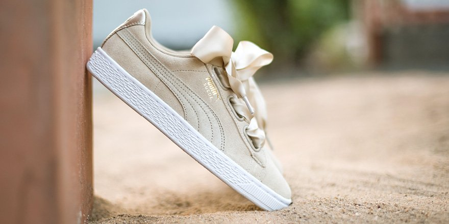 puma heart safari beige