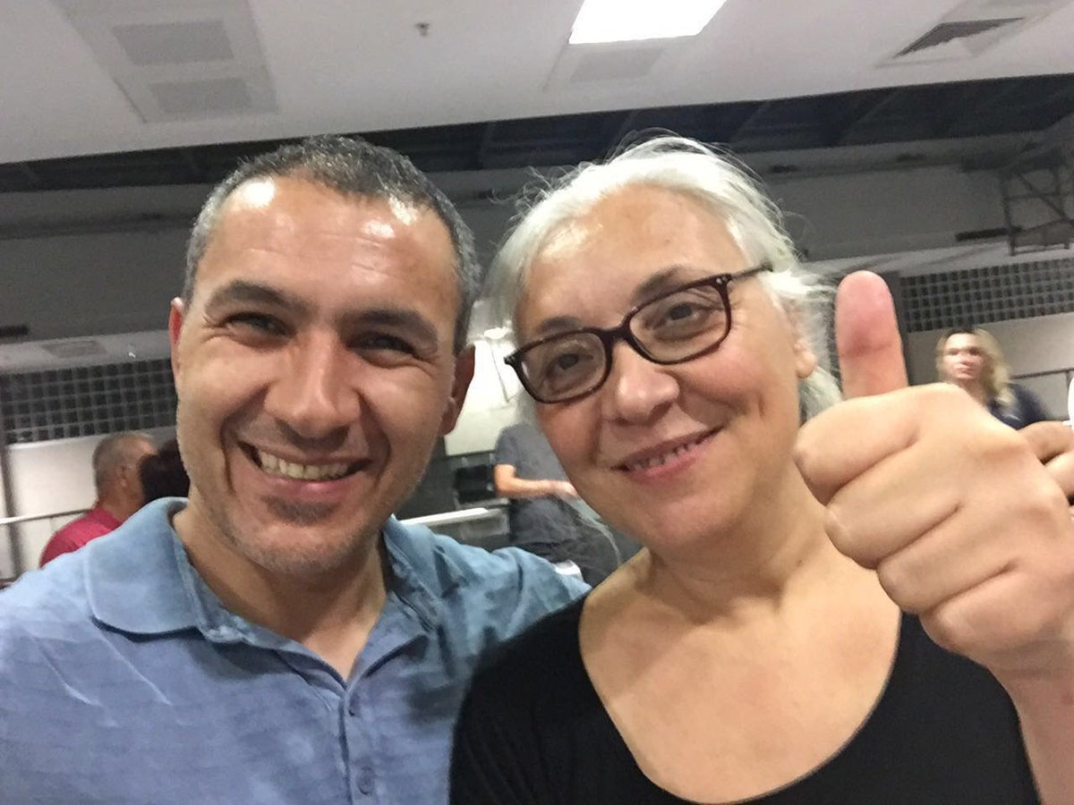 #Amnesty #Turkey director Idil Eser showing brave face after #Istanbul10 formally charged on spurious claims of supporting terror org<br>http://pic.twitter.com/Vt1gS5ZSVr