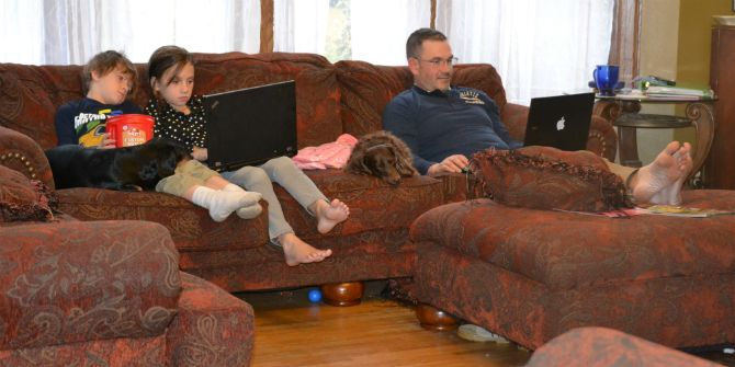 Learning or loafing – watching summer TV...