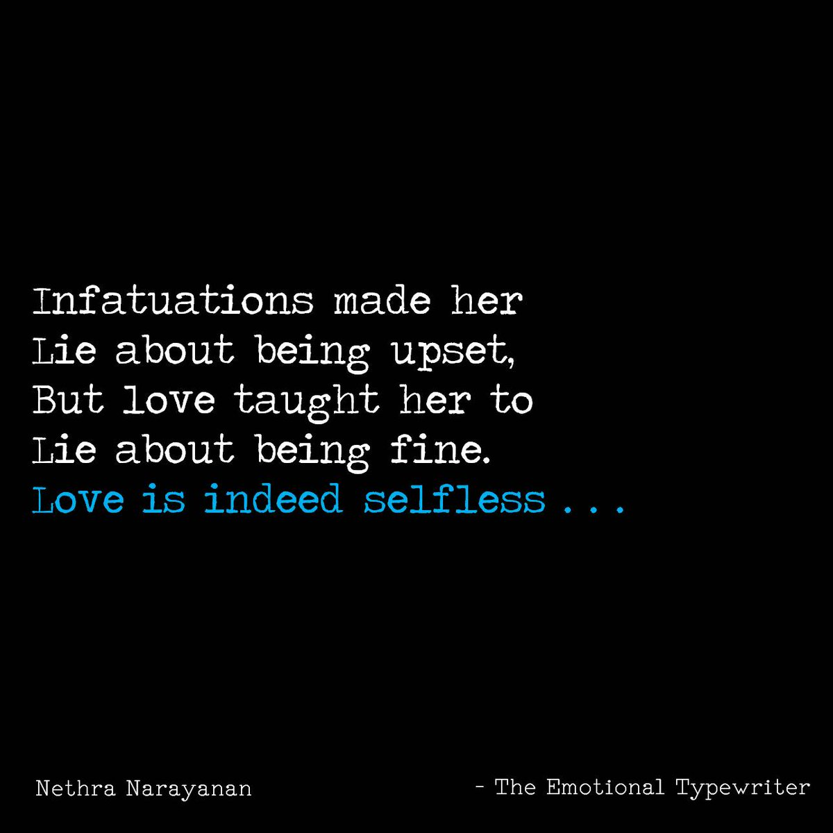"Selfless Love Quotes Emotionaltypewriter On Twitter ""love Is Indeed Selfless"