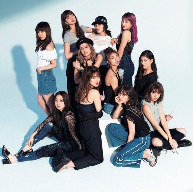 ☆新生E-girls☆  SAYAKA 楓 藤井夏恋 YURINO 須田アンナ 鷲尾伶菜 坂東希 佐…