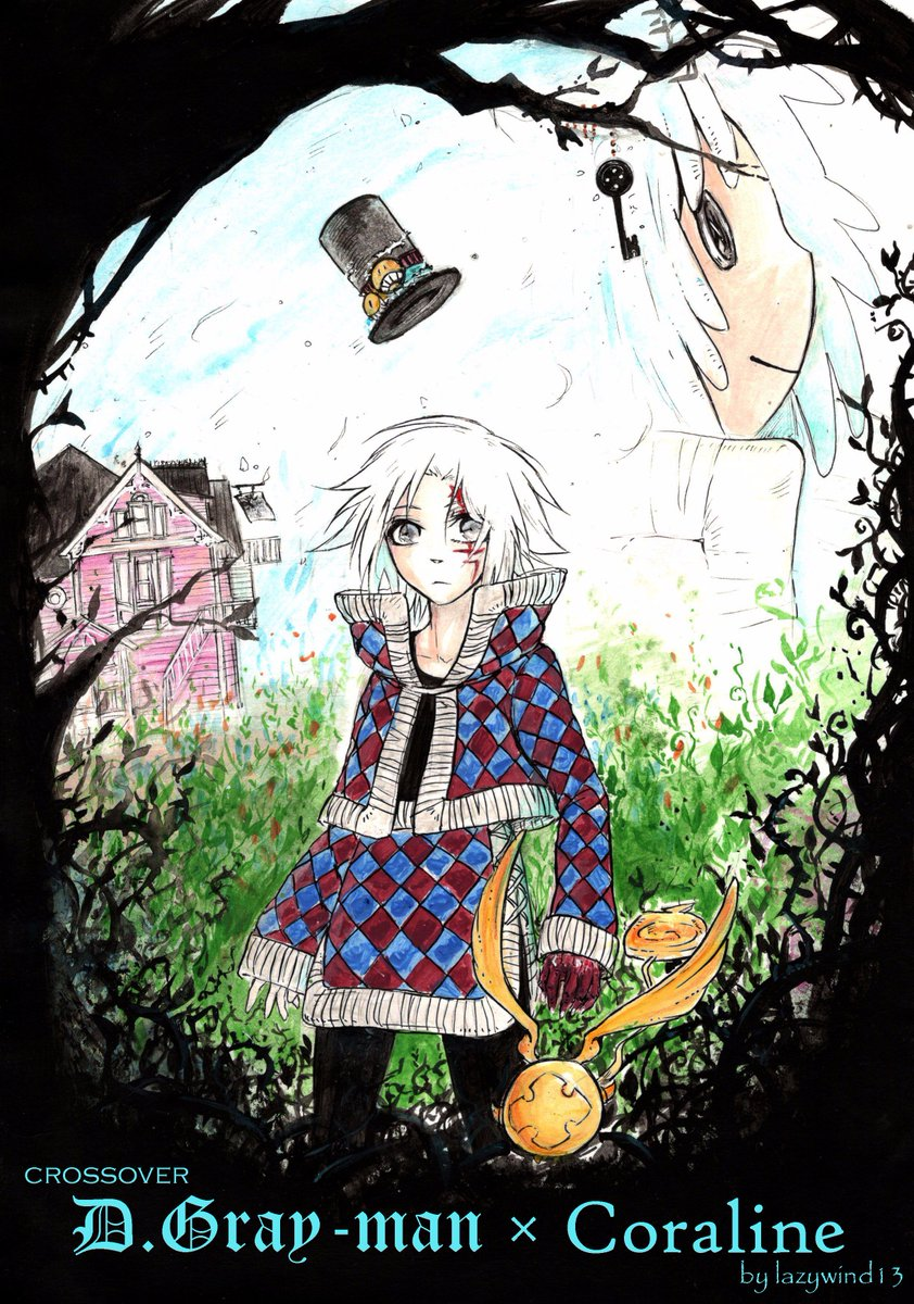 Lazy Wind On Twitter Crossover D Gray Man Coraline You Can Read The 1st Part On My Tumblr Https T Co Fd2ehzxla8 Dgrayman Coraline Https T Co Occxwp2hia