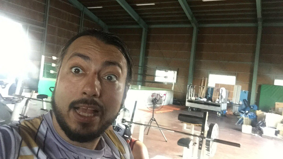 Day off but its always a good day for Training. Now we will win! #kamisama #noah_ghc #NOAHtheREBORN #xnl #LuchaLibre <br>http://pic.twitter.com/RDw2VduuPB
