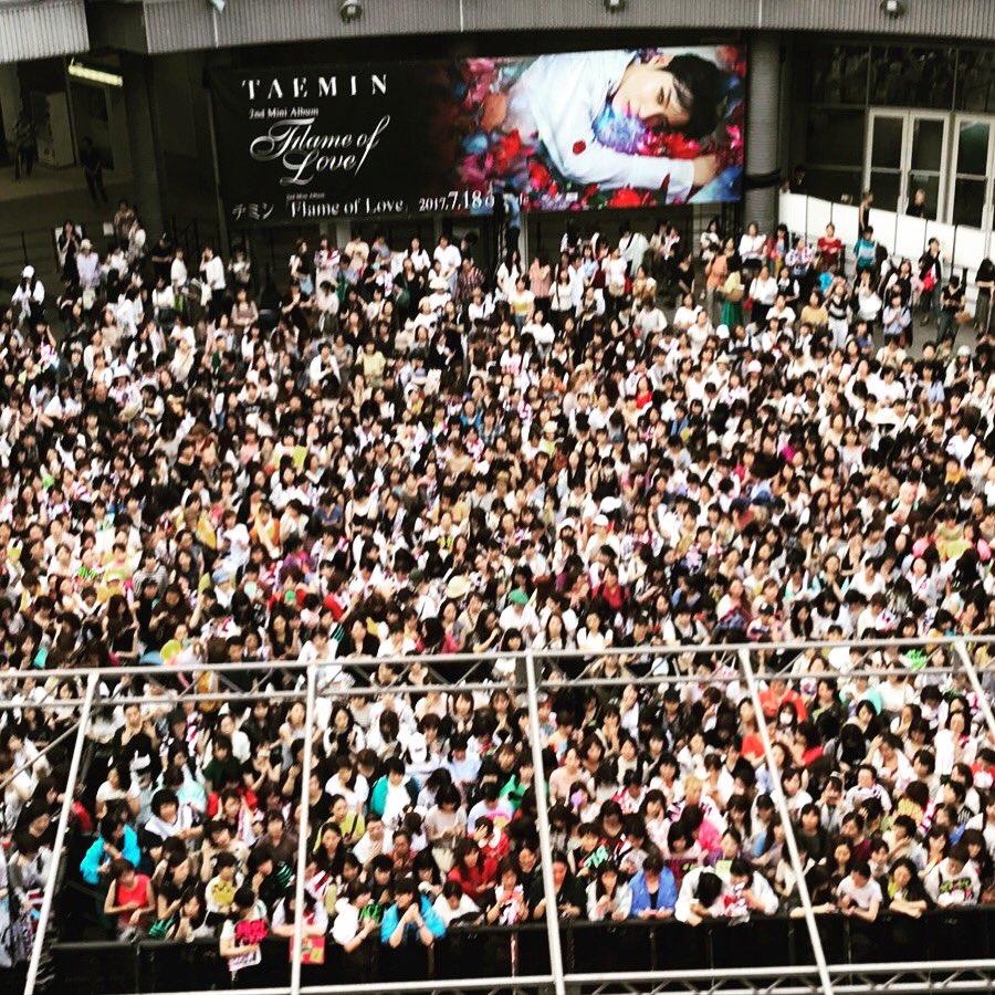 #テミン 「#FlameofLove」発売記念イベント7/17大阪会場、7/18東京会場先ほど無事終…