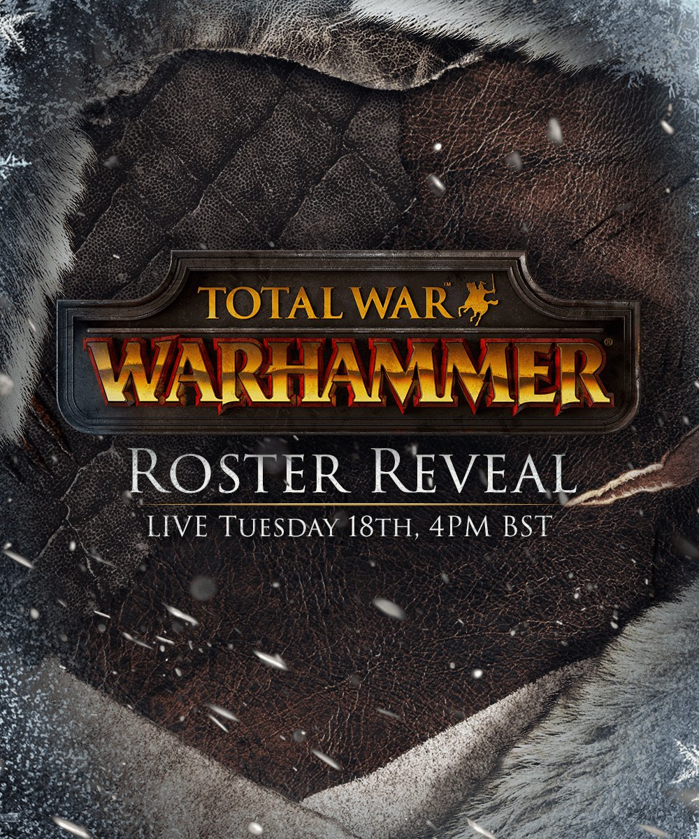 """4Pm Bst total war on twitter: """"tune into facebook live at 4pm bst"""