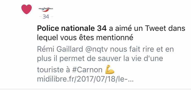 Big up @PoliceNat34 pour son sens de l'humour. https://t.co/CTy0ZscHpx