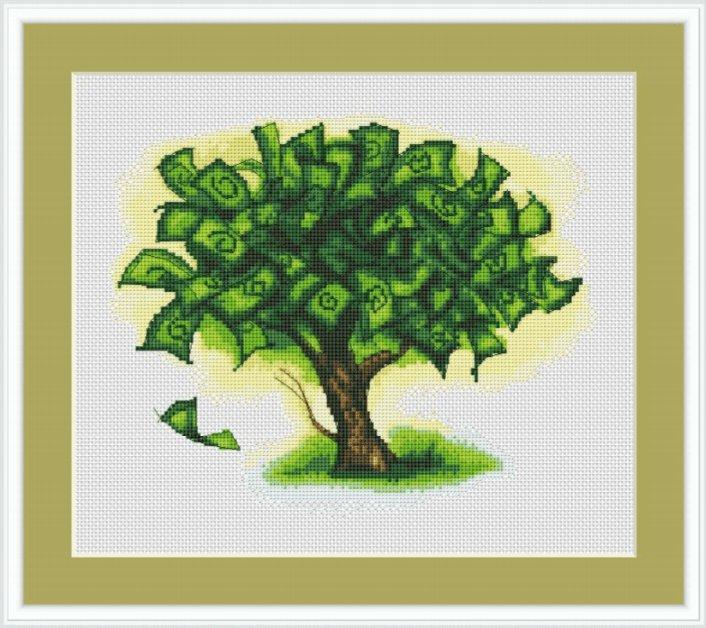 денежное дерево своими руками поделка