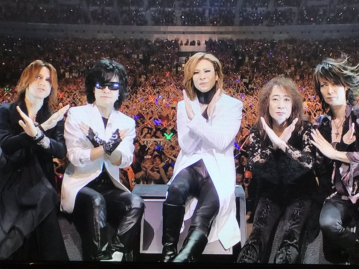 xjapan奇跡の夜 hashtag on Twitter