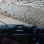 Comença l'intent de fer fotogrametria al Rec comtal! #ArqueoBorn17 #Arqueologia #Archaeology #TIC