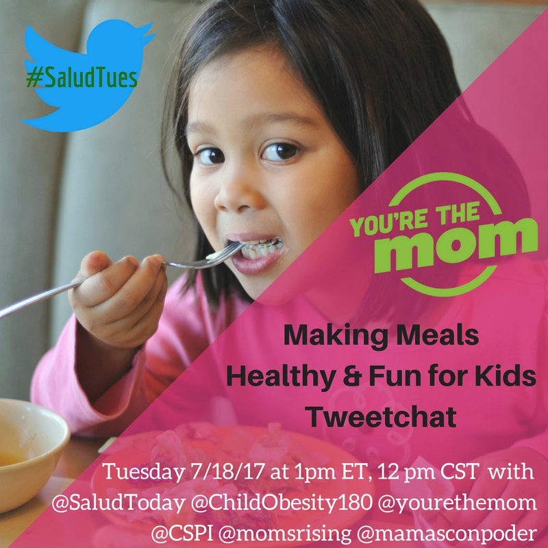 Thumbnail for #SaludTues You're the Mom: Making Meals Healthy & Fun for Kids