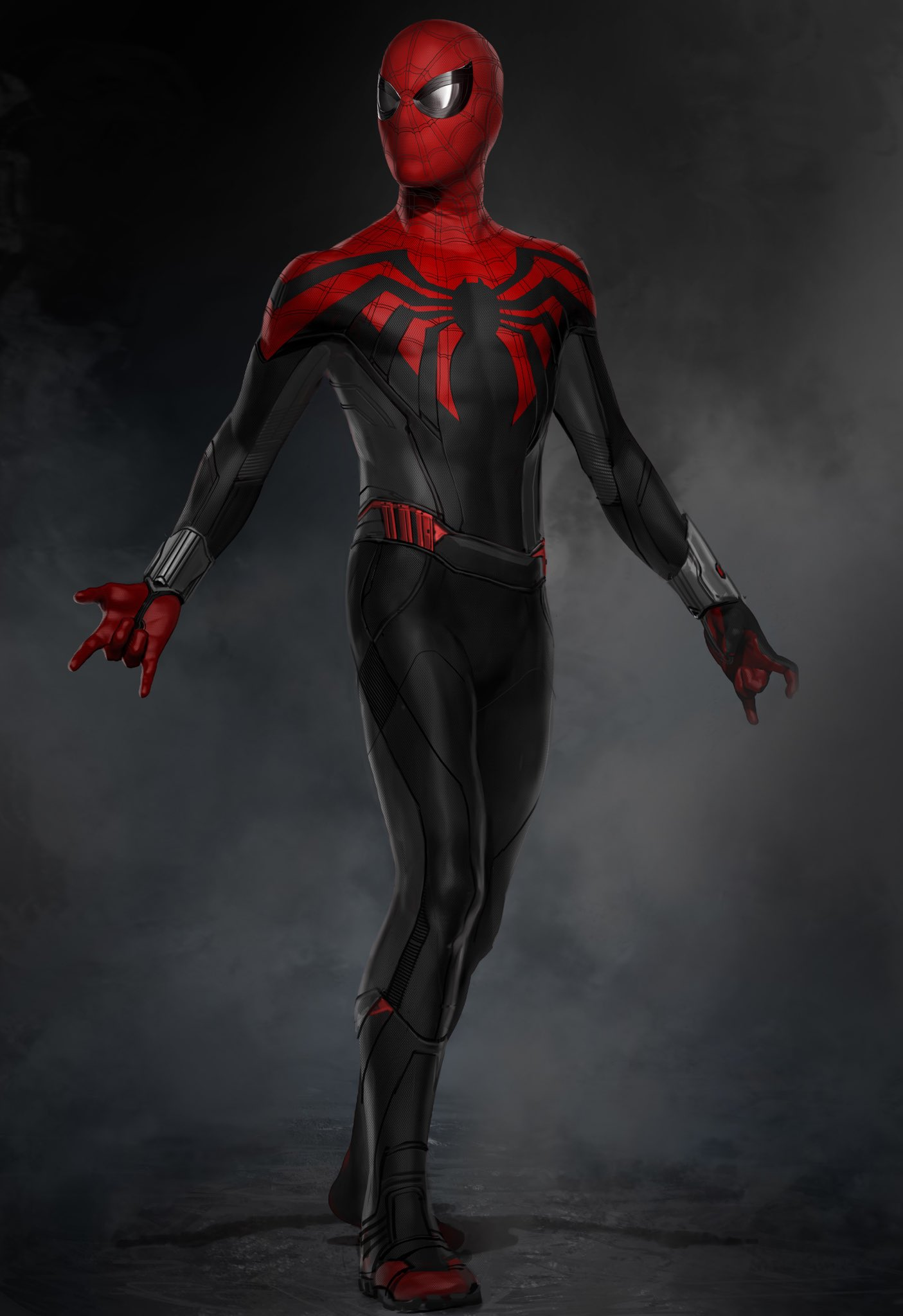 Unused Spider Man Homecoming Concept Art Takes Influence